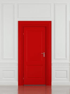 A cor da porta de entrada no feng shui